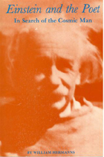 Einstein and the Poet - In Search of the Cosmic Man by William Hermanns front bookcover