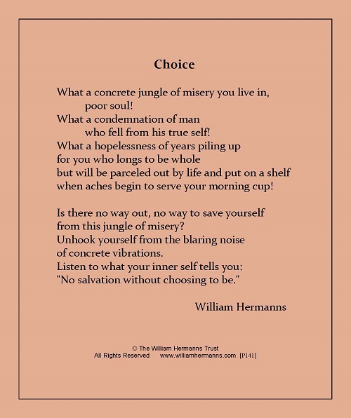 Choice by William Hermanns