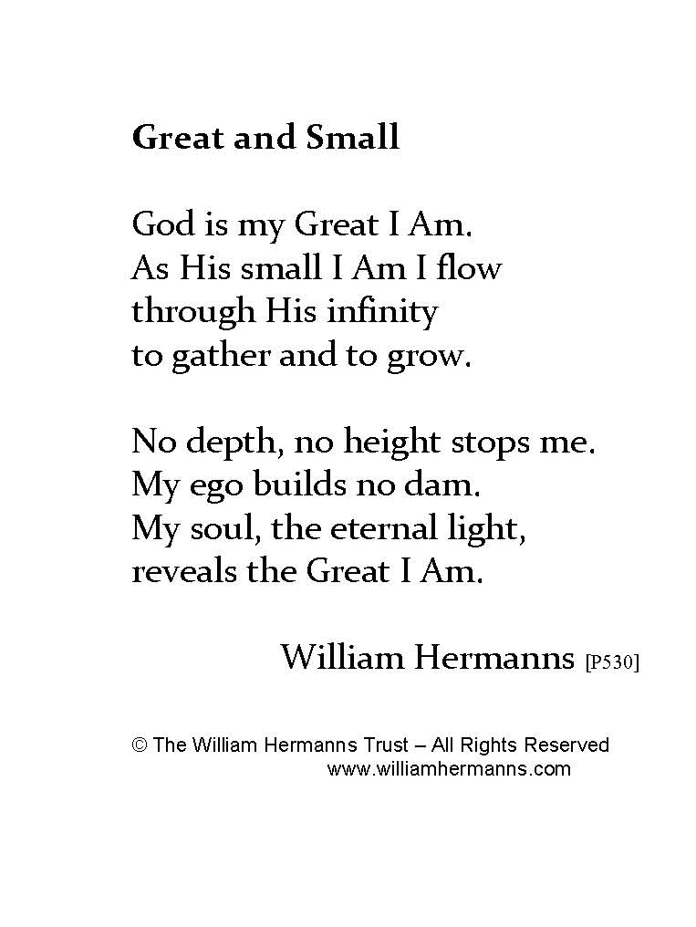 Great and Small by William Hermanns